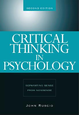 Critical Thinking In Psychology By Ruscio, John